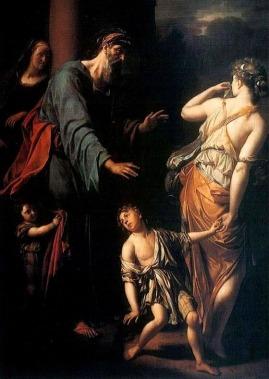 Abraham, Hagar,and Ishmael