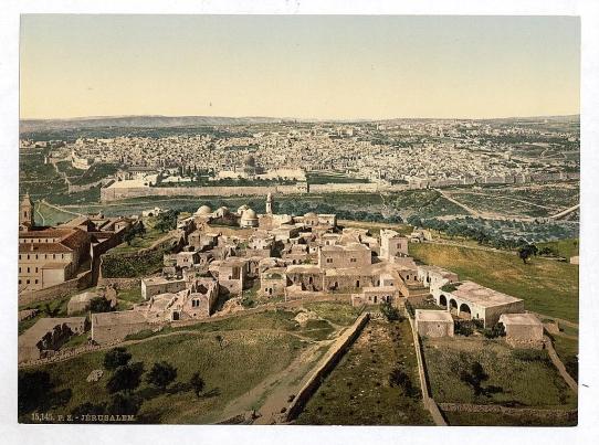 Jerusalem, Palestine 1900s