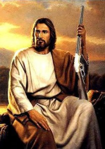 Jesus and Gun