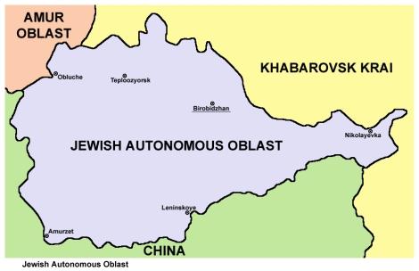 Oblast autónomo judío