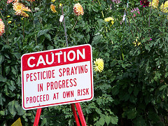 Pesticide Warning