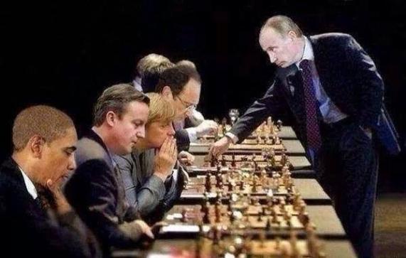 Putin Chess Master