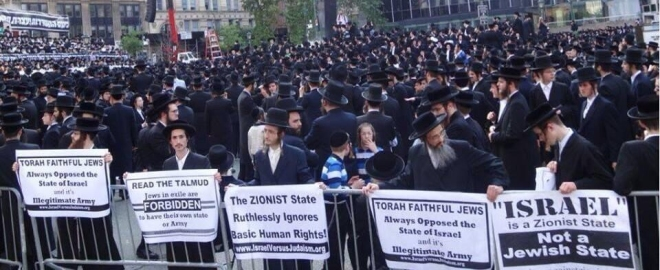 True Torah Jews vs Israel