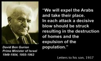 Genocidal Ben Gurion
