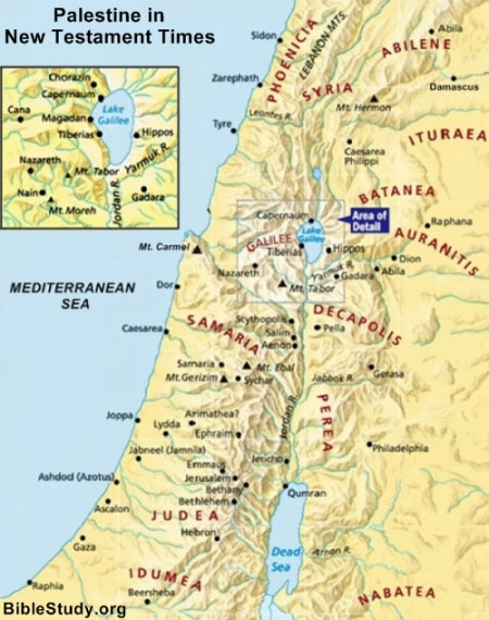 Palestine New Testament Times