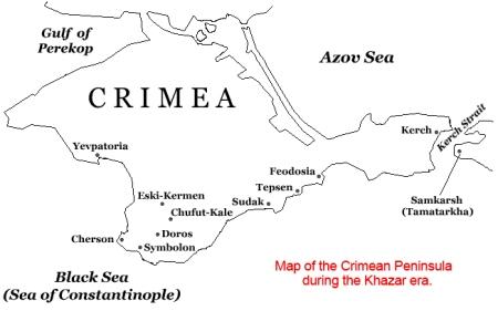 Khazaria Map