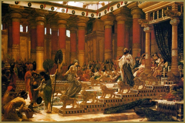edward-poynter-1890-sheeba-solomon-and-his-wives