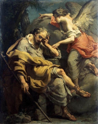 Joseph dreams and the Angel speaks