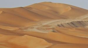 Desert Dunes in Abu Dhabi